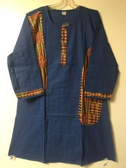 Men Dashiki Vintage African Ethnic Kente Cloth 3 Pcs suit ca