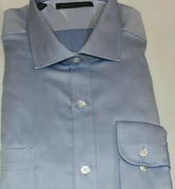 Tommy Hilfiger Men's 100% Cotton Sky Blue Regular Fit Dress