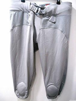 Nike Men's 424173 057 Combat Padded Football Pants Pewter Si