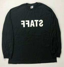 Men's Alstyle Apparel & Activewear Staff Long Sleeve Shirt S