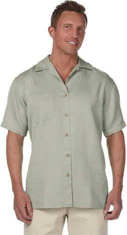 Harriton Men's Bahama Cord Camp Shirt *CLEARANCE SALE*
