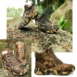 Men's Camo SWAT Outdoor Hunting Camping Waterproof shoes Tac