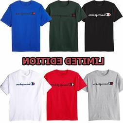 Champion Men's Classic Jersey Script T-Shirt Limited Edition