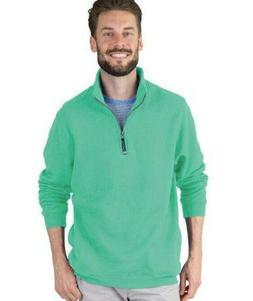 Charles River Apparel Men's Crosswind Quarter Zip Sweatshirt
