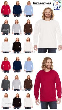 American Apparel Men's Fine Jersey Cotton T-Shirt 2007W or 2