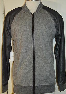 Men's Brooklyn Cloth Gray Long Sleeve Full Zip Ltwt. Jacket