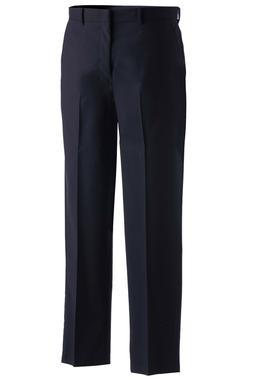 Men's Lightweight Wool Blend Flat Front Dress Pant