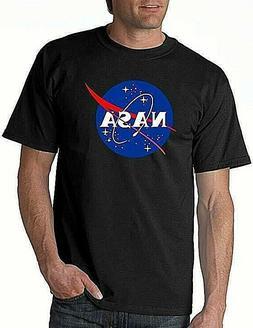 Hybrid Apparel Men's Nasa T-Shirt Black 2XL Free 2-3 Day Shi