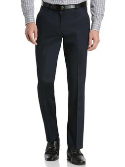 Perry Ellis Men's Portfolio Solid Slim Fit Stretch Dress Pan