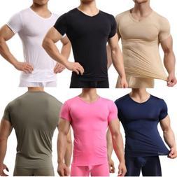men s smooth gym sport t shirt
