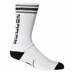 men s spitfire high socks white footwear