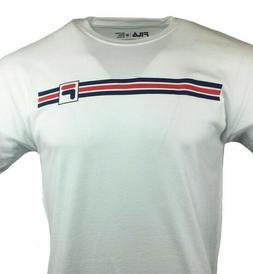 FILA Men's T Shirt  Logo Graphic Tee Athletic Sports Apparel