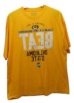 289C APPAREL Men's T-Shirt Short-Sleeve Crew Neck Yellow BIG