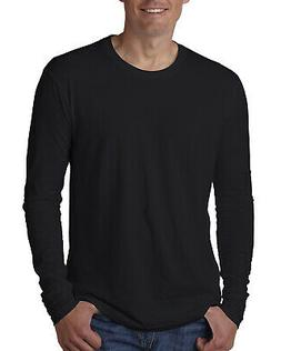 Next Level Apparel Mens Long Sleeve Premium Crew Neck T-Shir