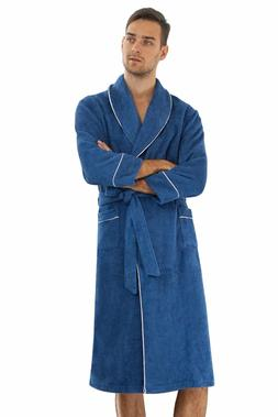Men's Towelling Cloth Cotton Kimono Robe