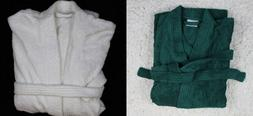 Men's Turkish Cotton Terry Cloth Bathrobes One  Size Soft He