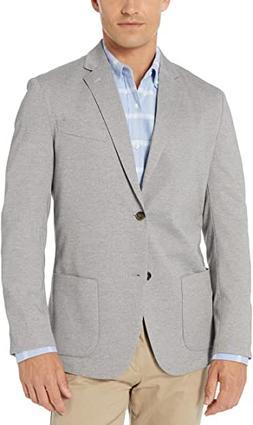 Amazon Essentials Men's Unlined Knit Sport Coat, Gray, Mediu