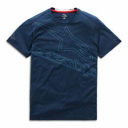 Alpinestars Men's Velocity Ride Dry Short Sleeve T Shirt Nav