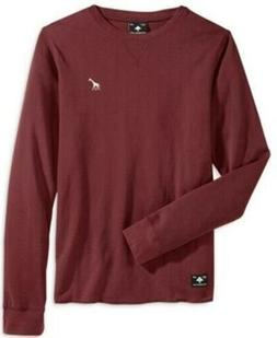 Lrg Men's Waffle Knit Thermal Shirt Men's Clothing Pullover