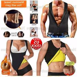 Men's Weight Loss Cincher Gym Clothes Sport Hot Sweat Cami S