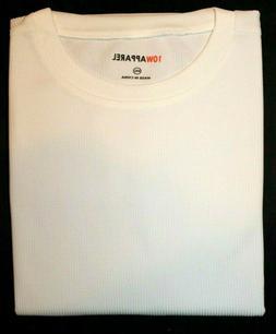 10W Apparel Men's Wicking Thermal White/Grey/Black PJ Top La