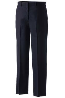 Men's Wool Blend Flat Front Dress Pant