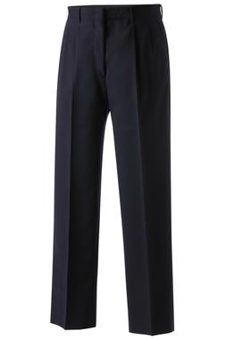 Men's Wool Blend Pleated Dress Pant