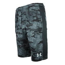 Under Armour Men's Woven Graphic Shorts Black/Grey Camo Prin