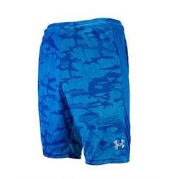 Under Armour Men's Woven Graphic Shorts Light Blue Camo Prin