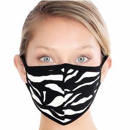 Men Women Cotton Face Mask Unisex Print Reusable Clothing Co