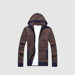 Men Wool Sweaters Solid Cardigan clothes Fashion Pullover Ve
