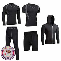 Men Workout Clothes Outfit Fitness Apparel Gym Outdoor Runni
