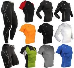 Men Workout Running Gym Fitness Under Tights Sports Clothes