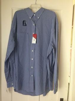 Mens Big & Tall Izod Advantage Poplin Buttondown Dress Shirt