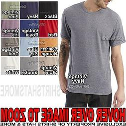 Alternative Apparel Mens Cotton/Poly T-Shirt Classic Fit XS,