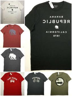 Men's Banana Republic Graphic TShirt. Spring & Summer Clot