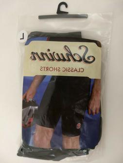 Mens LARGE Schwinn Classic Bike Shorts Black Padded Cycling