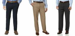 IZOD Mens Performance Comfort Flex Stretch Straight Fit Dres