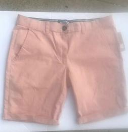Sunday Work Clothes Mens Shorts Pink Flat Front 30 NWT.