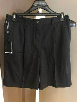 NIKE GOLF Mens Shorts Size 34 Dress Pleated Front Dri Fit BL
