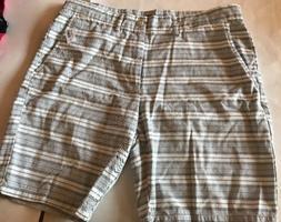 Men's Shorts Size 38 New Stripes Gray White Brand New NWT