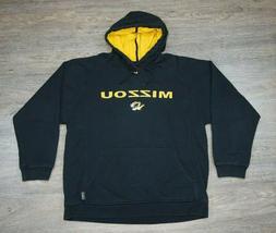 Nike Mizzou Tigers VTG Hoodie Sweatshirt Adult XL Swoosh Mis