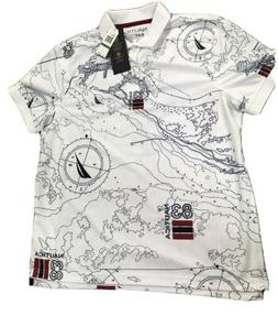 NAUTICA NAVTECH T-shirt Size L White Men Apparel
