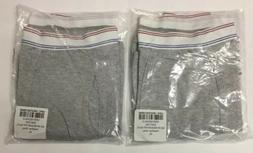 X 2 pair American Apparel Men's Cotton Spandex Boxer Brief
