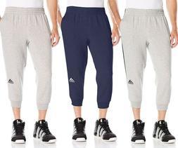 NEW Adidas Men's Athletic Apparel 3/4 Pants Slim Basketball