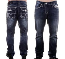 New Mens Monsta Clothing Fitness Athletic Jeans