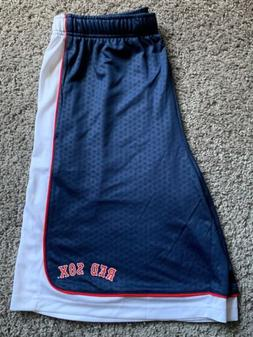 NWT Team Apparel Mens Athletic Shorts Boston Red Sox Size La