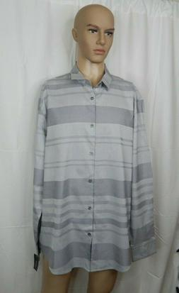 NWT NEW Men's Alfani Size XXL 2XL Dress Shirt Casual Work Cl