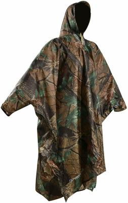 REDCAMP Outdoor Rain Poncho 3in1 Multifunctional Raincoat wi