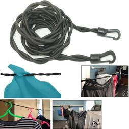 Pegless Travel Clothes Line Clothesline Washing Camping Hang
